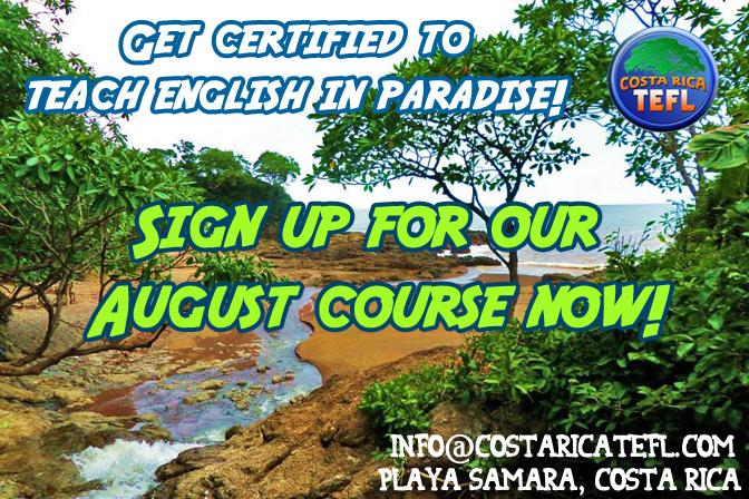 tefl, tesol, teaching english abroad, teaching in costa rica, costa rica, pura vida, esl, efl