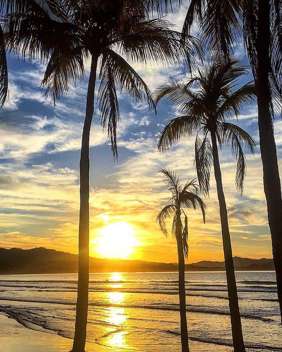 Never miss a sunset in Costa Rica.