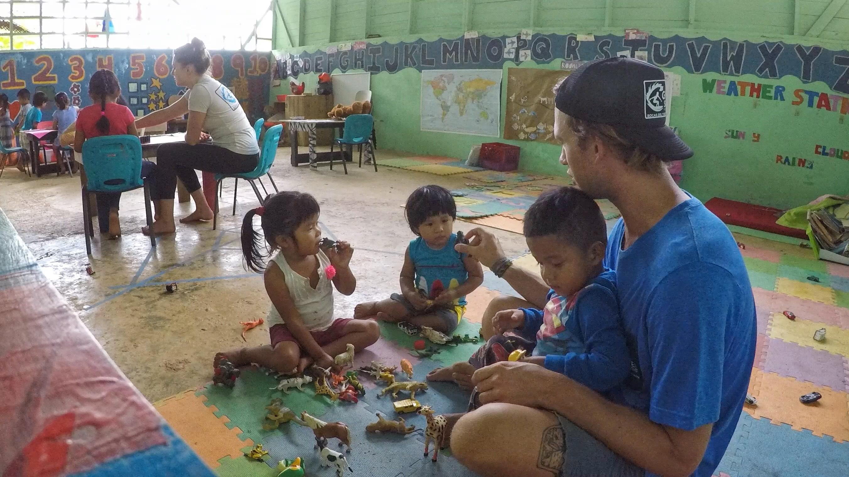Zach in Panama